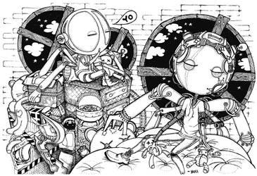 GOODNIGHT Robot by irbochan999