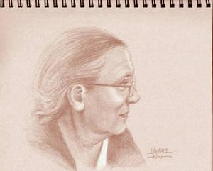 Marilu's Conte Portrait