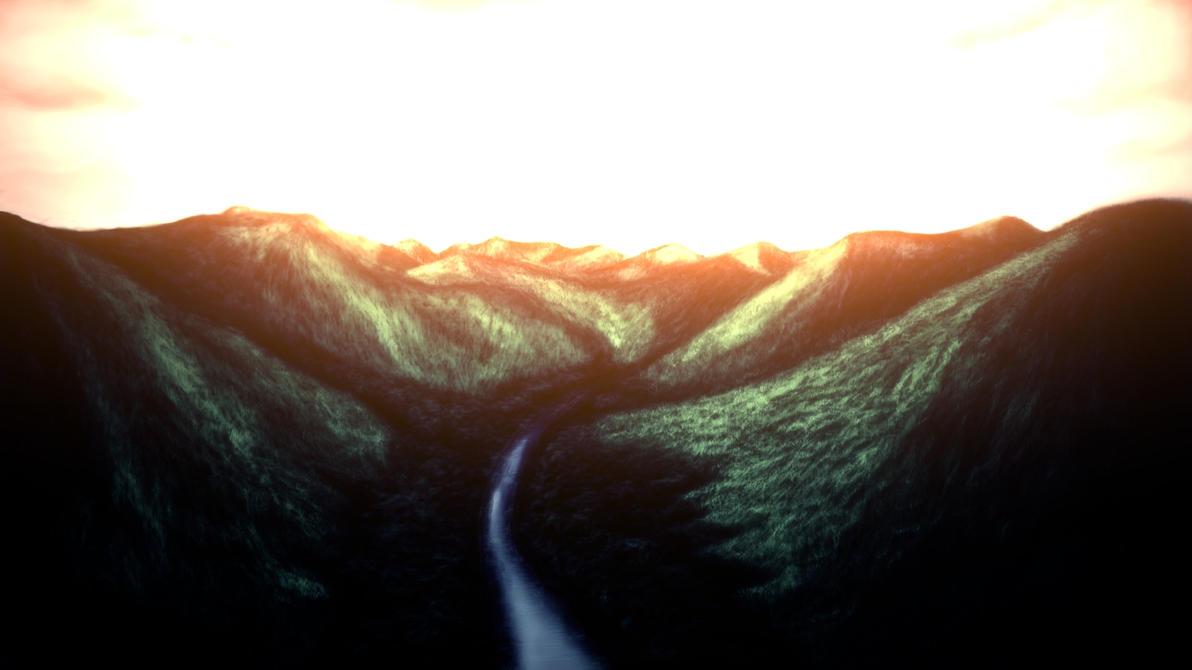 Avatar Mountain Concept by GTzArt