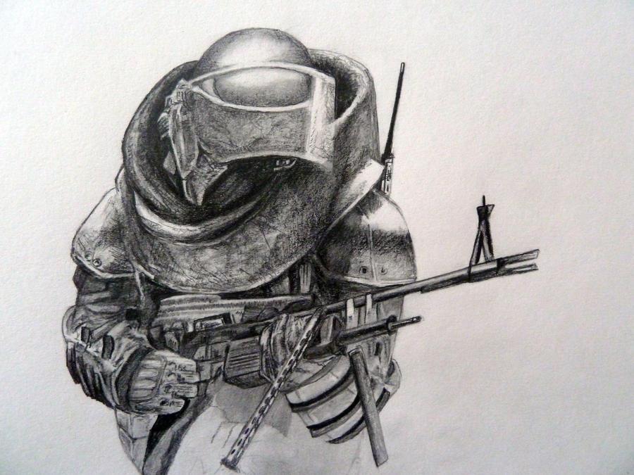 MW3 Juggernaut by GTzArt
