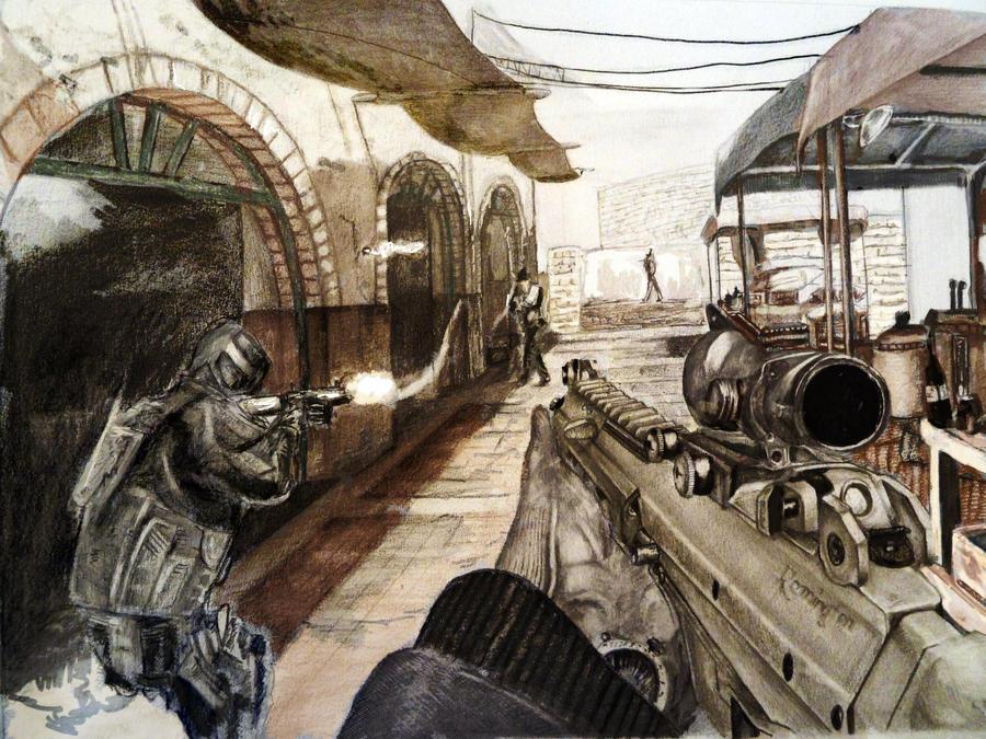 Modern Warfare 3. by GTzArt
