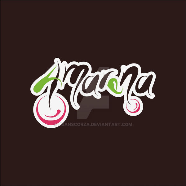 Amarena Logotype (FOR SALE) by JuanScorza
