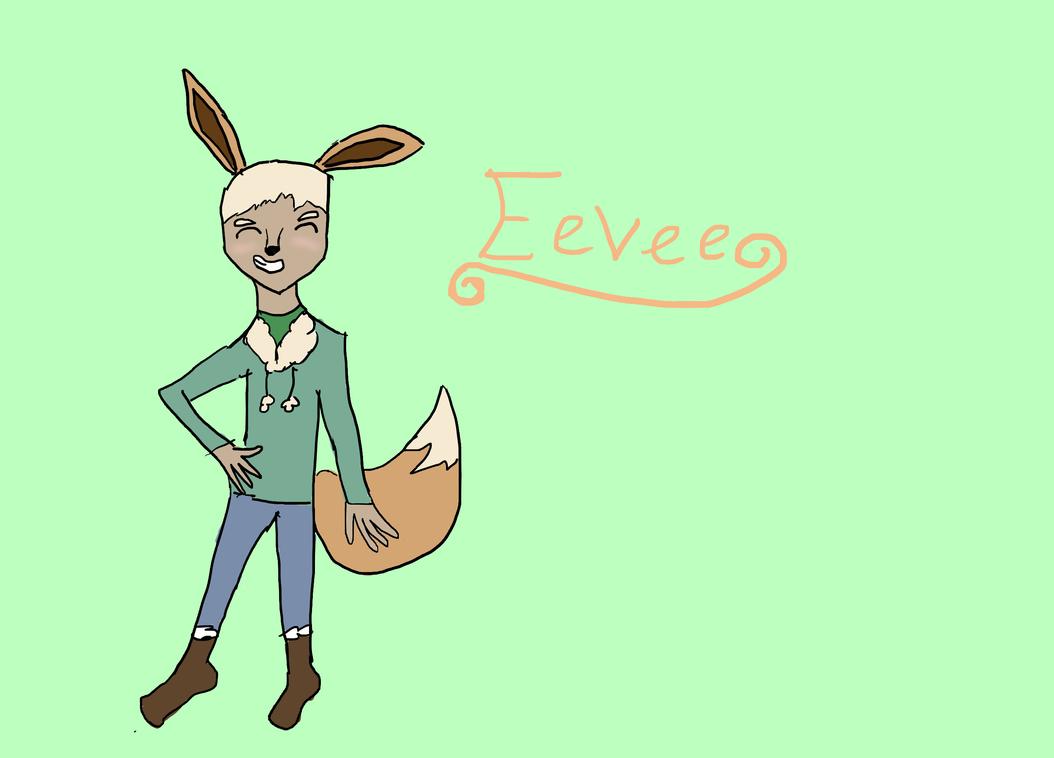 Eevee by myrandomartdump