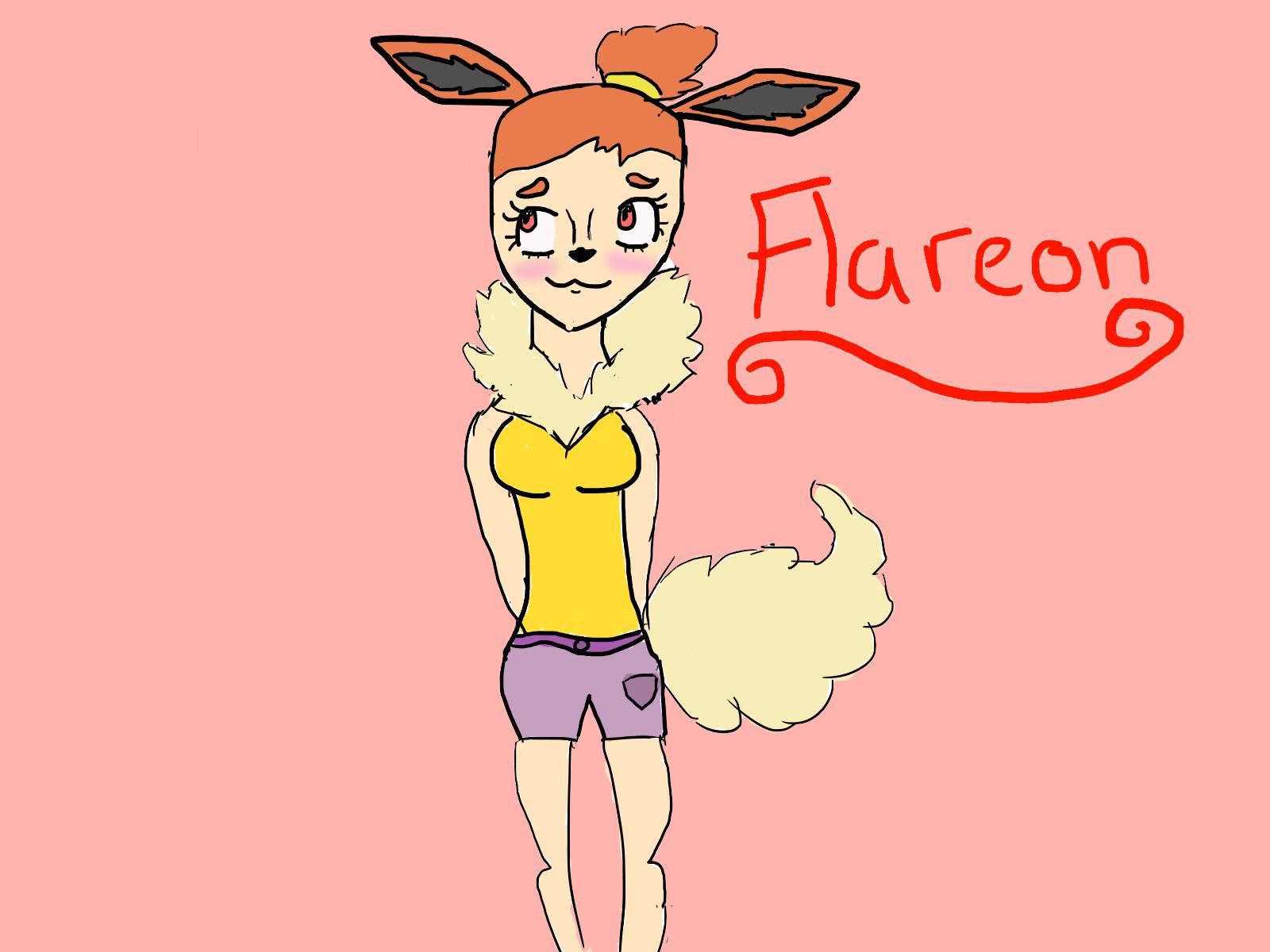 Flareon by myrandomartdump