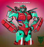Transformers: Pyra Magna by Arc-Caster135