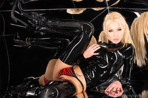Lucious Latex Refelections by SusanWayland