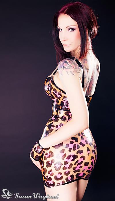 Sexy'n Wild Latex Cheetah by SusanWayland