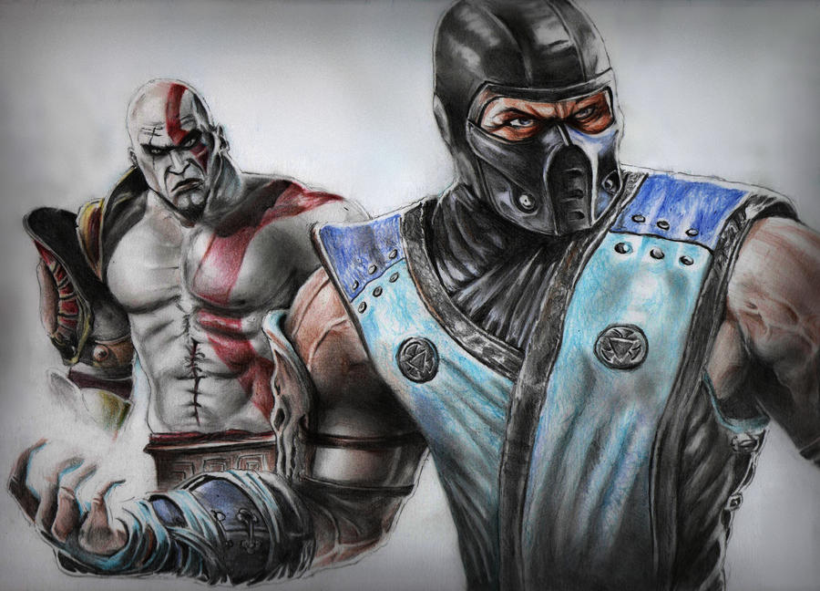 Kratos vs Sub-zero by MuhammedFeyyaz
