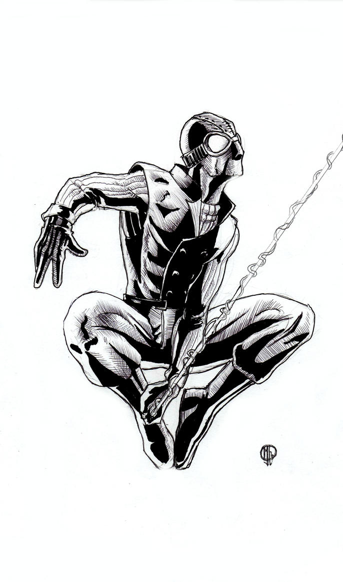 Big Spider Coloring Pages