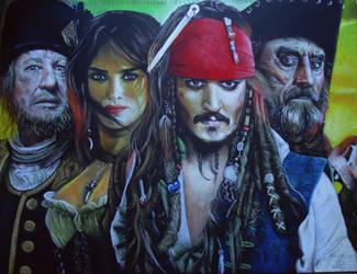 pirates of the carabbean by MuhammedFeyyaz