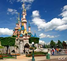 Disneyland Paris Castle by calincosmin
