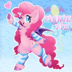 Pinke Pie the Bat Pony by Silent-Shadow-Wolf