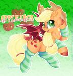 Applejack Bat Pony
