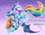 Rainbow Dash (Bat Pony Series)