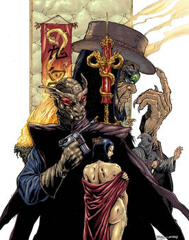 Mask of the Gargoyle: cover