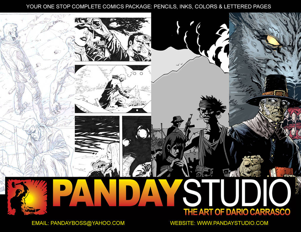 PANDAY STUDIO: Open For Business