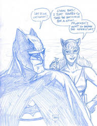 Funny Friday: Catwoman and the Batmobile