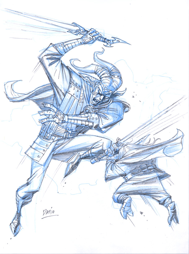Padawan Yoda by Darry