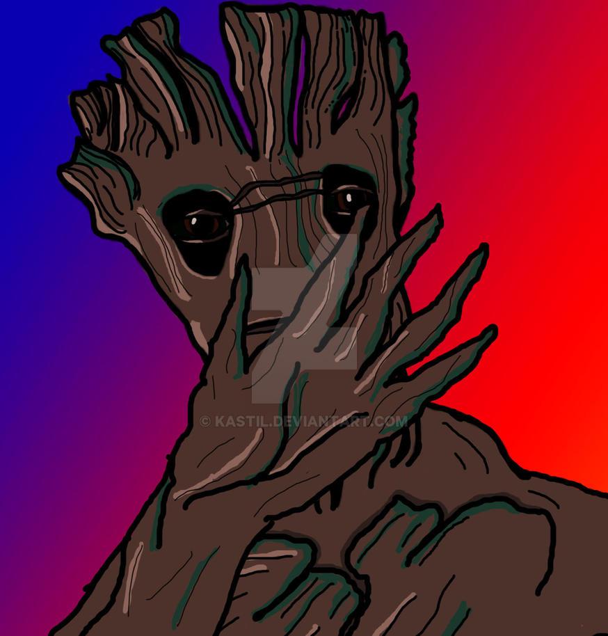 Gasping Groot copy by Kastil
