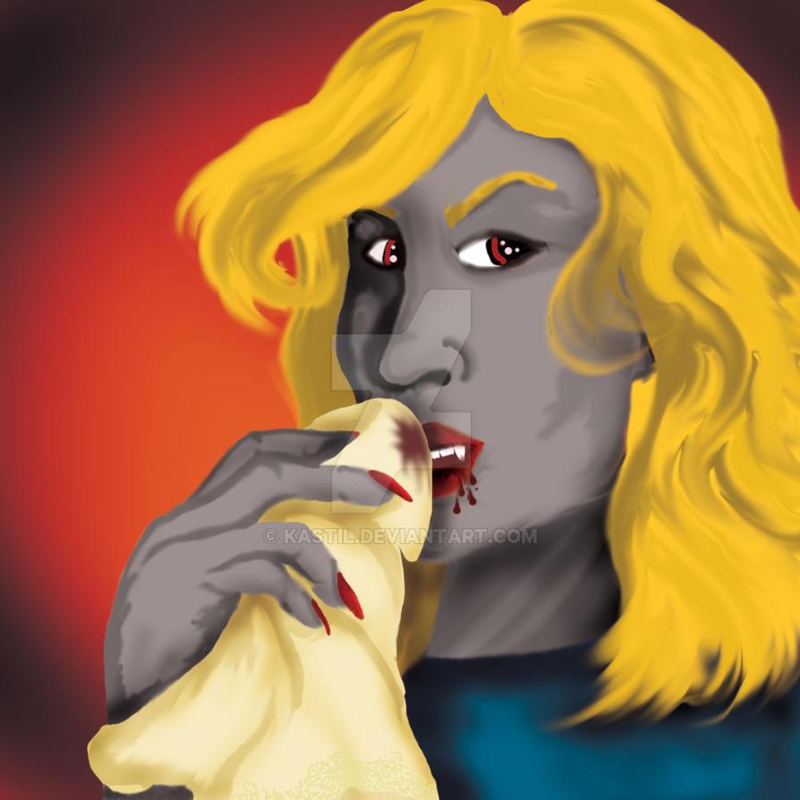Vampire-2015 #Drawlloween by Kastil