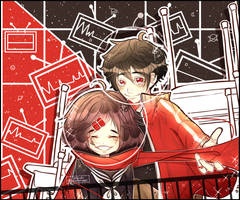 Ayano and Shintaro by dasuri