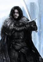 Jon Snow by RobbSimon