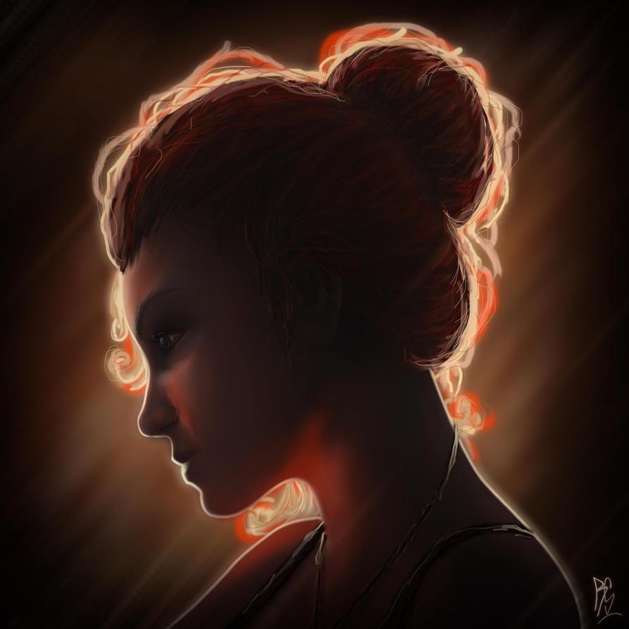 beautiful girl) by RobbSimon