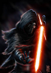 Kylo Ren by RobbSimon