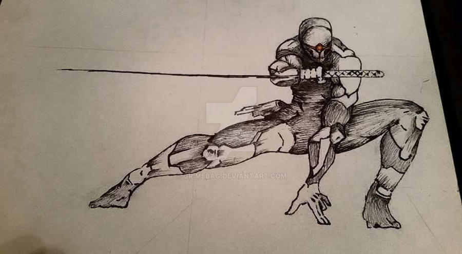 Gray Fox by GrimeBag