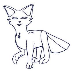 Sketchy YCH FoxFan (OPEN)