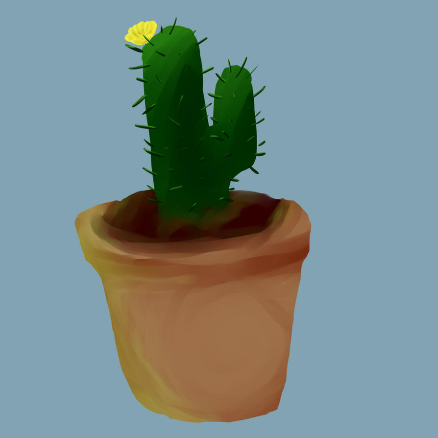 Cacti by Steampunk-Lark
