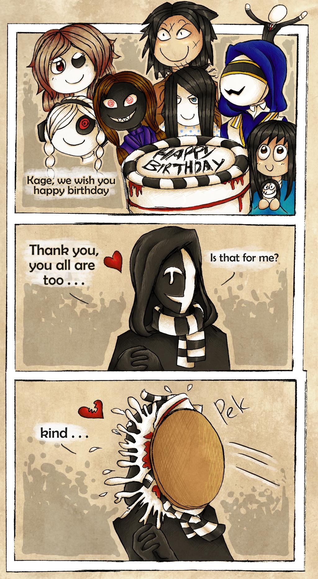 Birthday Cake by UmmuVonNadia