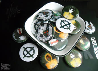 MH button Badges finally done by UmmuVonNadia