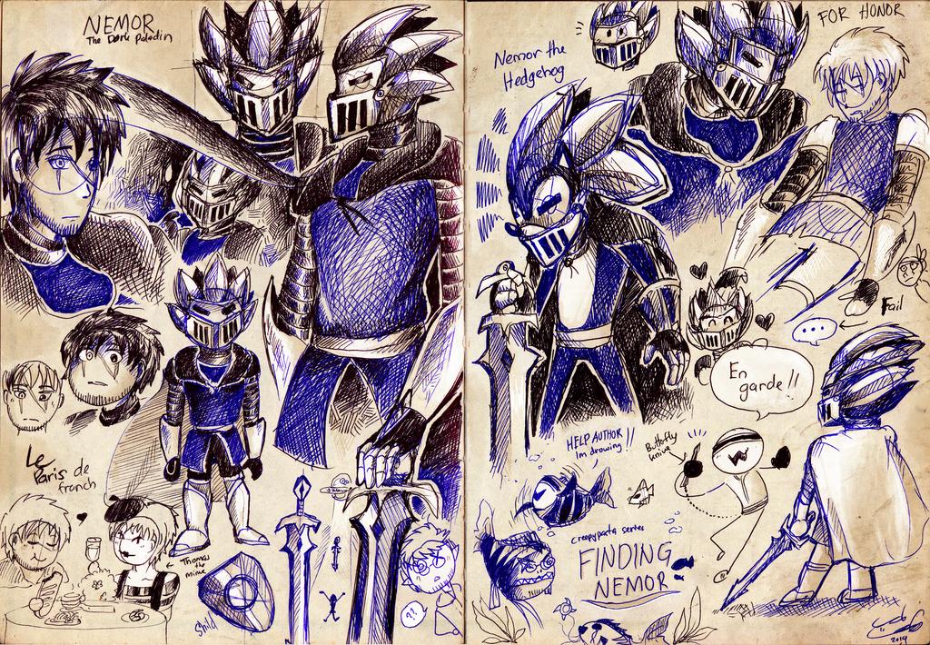 Sketchbook entries favourites by NTSEFAN on DeviantArt