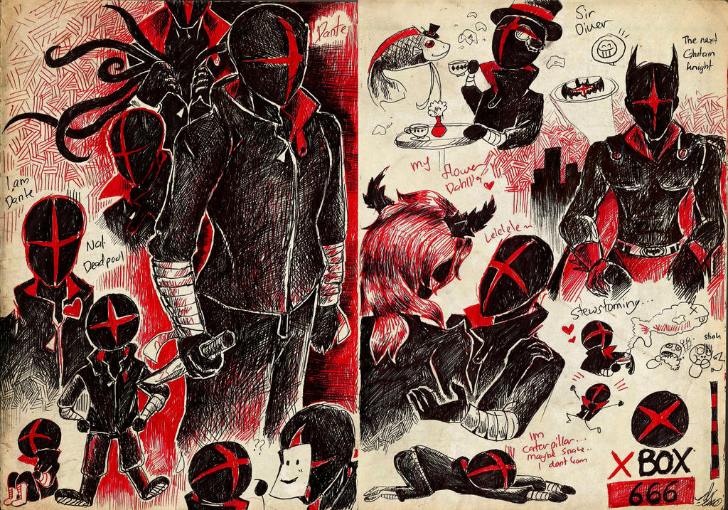 Sketchbook Entry] Ally the Nightmare Doll by UmmuVonNadia on ...