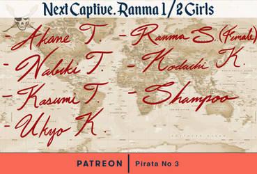 [Fan Art Poll] Next captive: Ranma 1/2 Girls