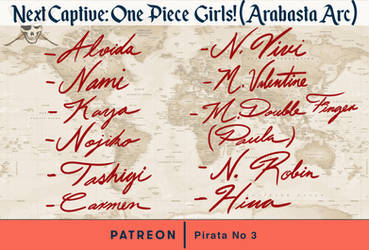 Fan Art Poll: One Piece Girls (Until Arabasta Arc)