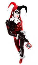 Linda Le as Harley Quinn by DrVillain