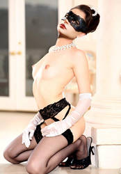 Anne Hathaway as Maid Catwoman (Fake) by DrVillain