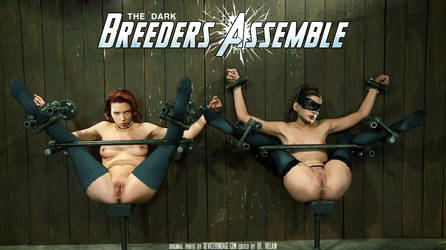 Black Widow and Catwoman: Dark Breeders Assemble! by DrVillain