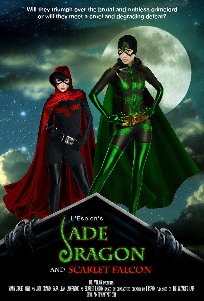 Jade Dragon and Scarlet Falcon Poster (Fake) by DrVillain