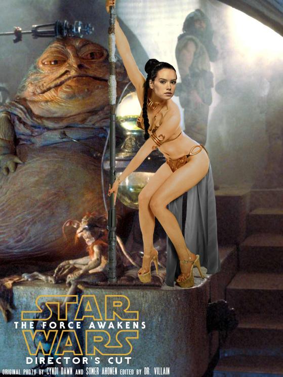 Daisy Ridley as Rey - Jabba's Slave