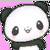 Kawaii Panda Avatar/Icon Free To Use X3