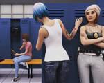 Trouble in the lockerroom