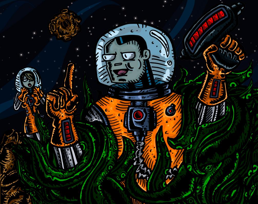 Horrible Espacio by DamianR