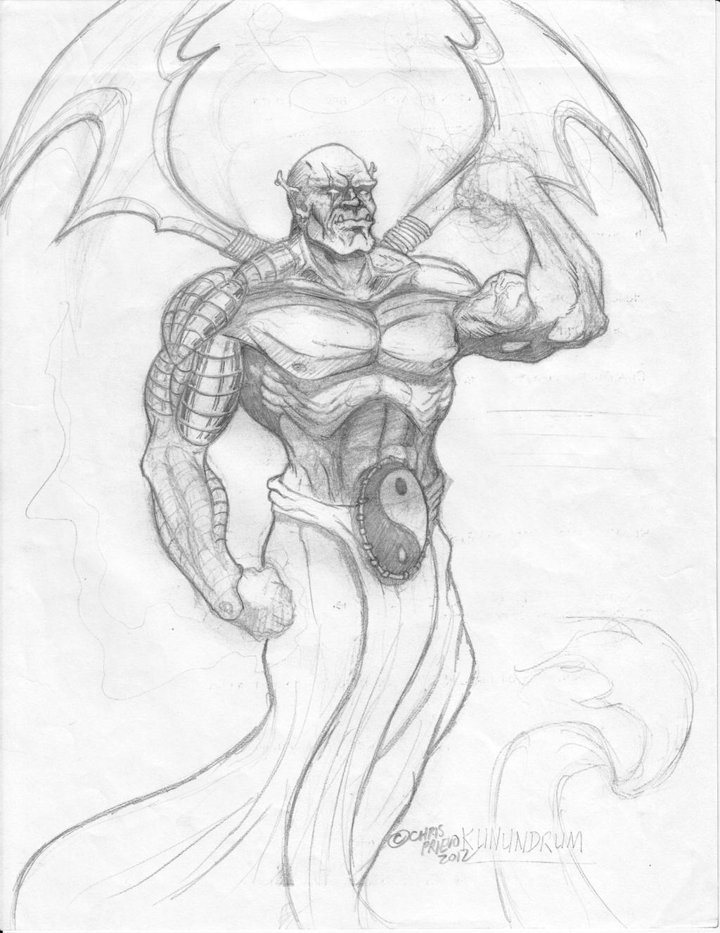 Kunundrum: The Warrior Genie re-concept by Car2nst