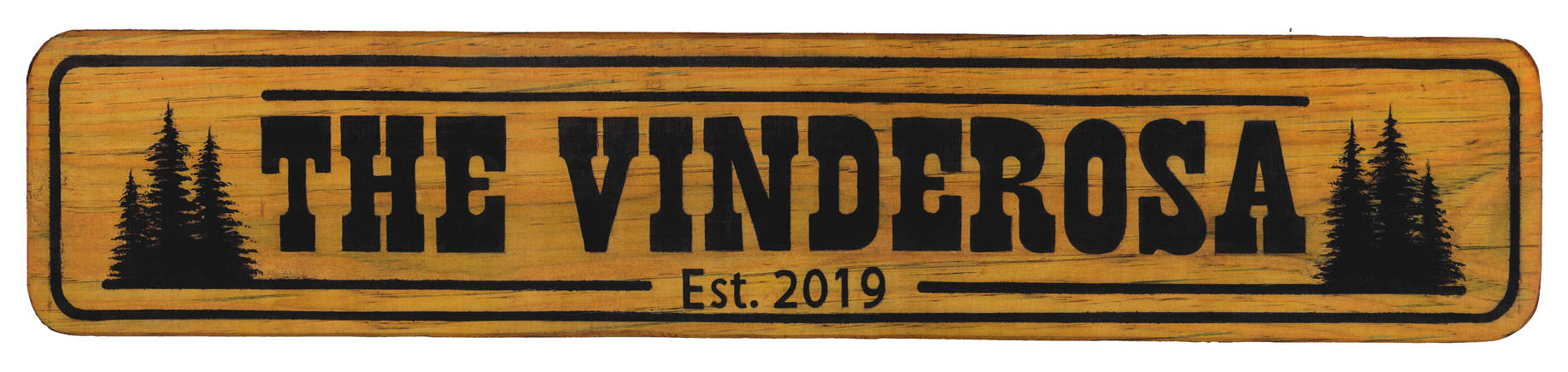 Hand Painted Wooden Sign commission