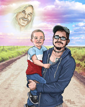 Portrait Commission (Father and Son)