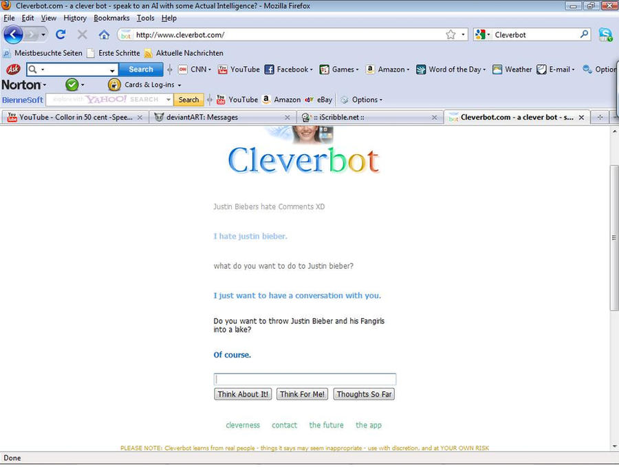 CleverBot did something right by ricothemutt