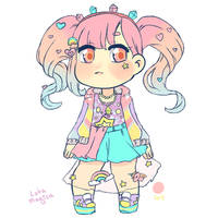 (closed) OTA - harajuku cutie rainbow by LobaMagica